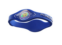 Power Balance Silicone Armband blue/white